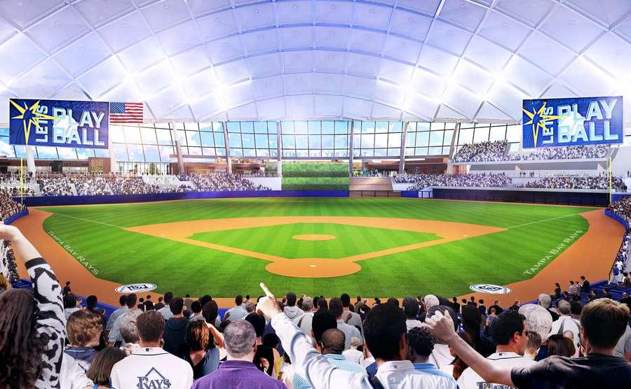 Rays unveil their plans for an Ybor City ballpark: All our ...