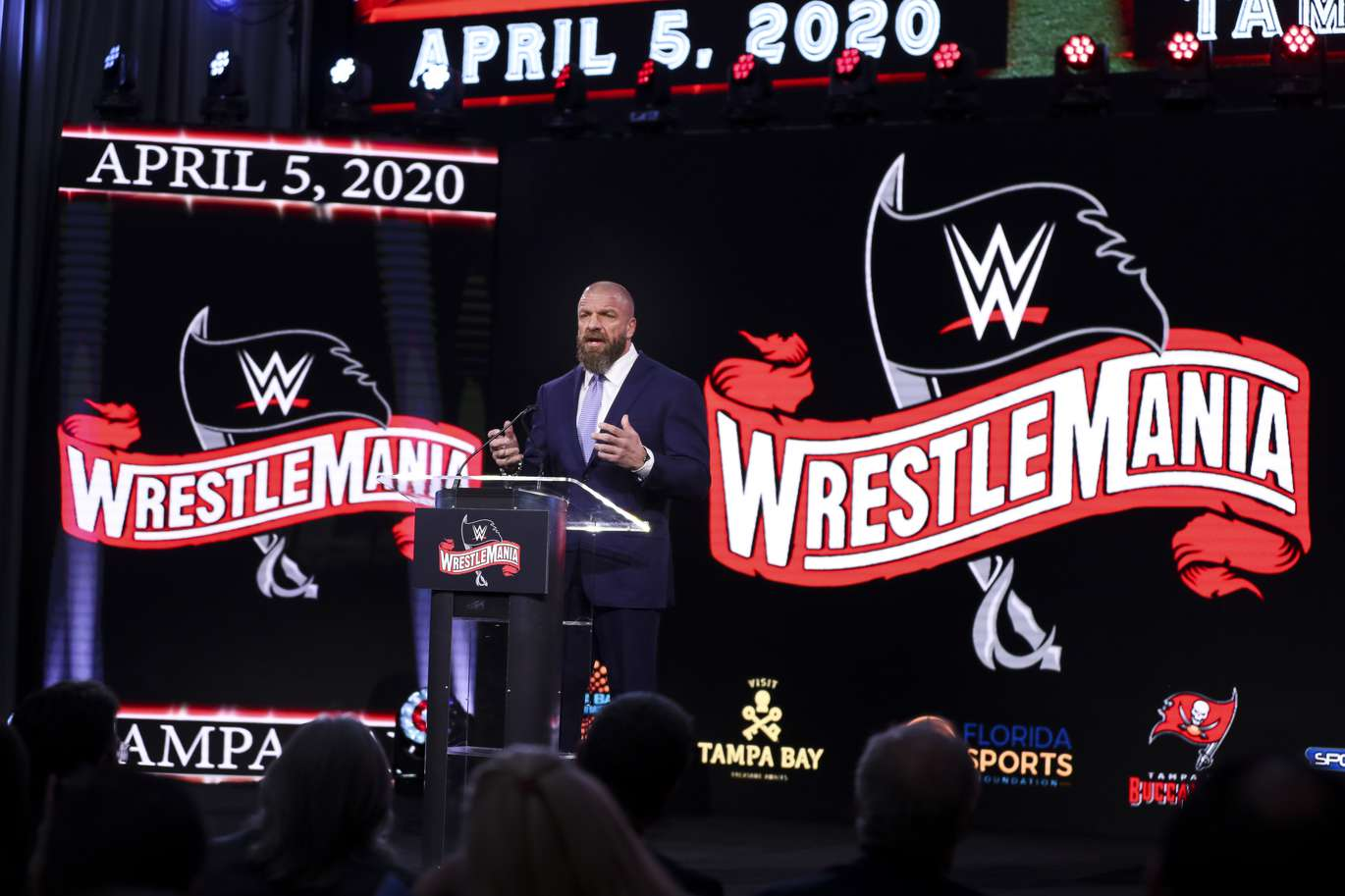 WrestleMania coming to Tampa in 2020 | Tampa Bay Times