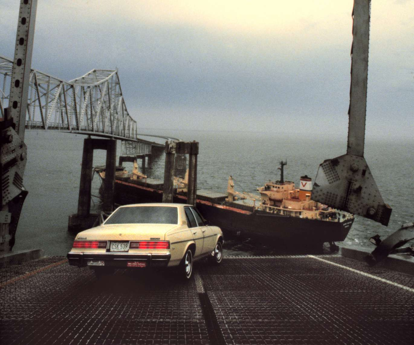 The Sunshine Skyway Bridge plunged into Tampa Bay 39 years ago