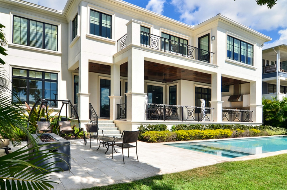 This home in Tampa's Sunset Park sold in June for $3.65 million. [Courtesy of Shelton Hughes Realtors]