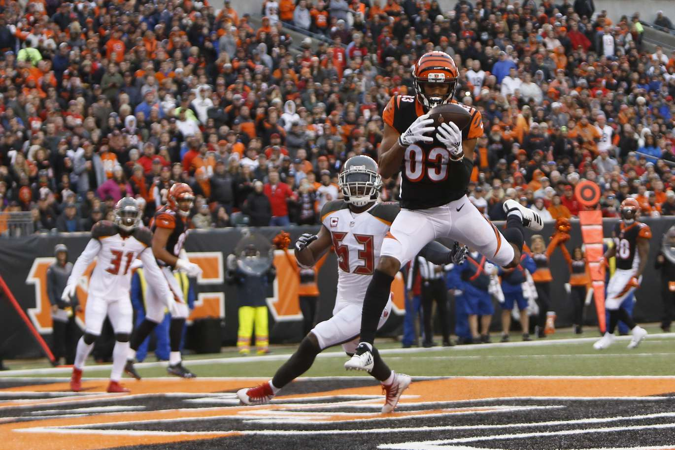 photo gallery the buccaneers lose to the bengals 37 34 tampa bay