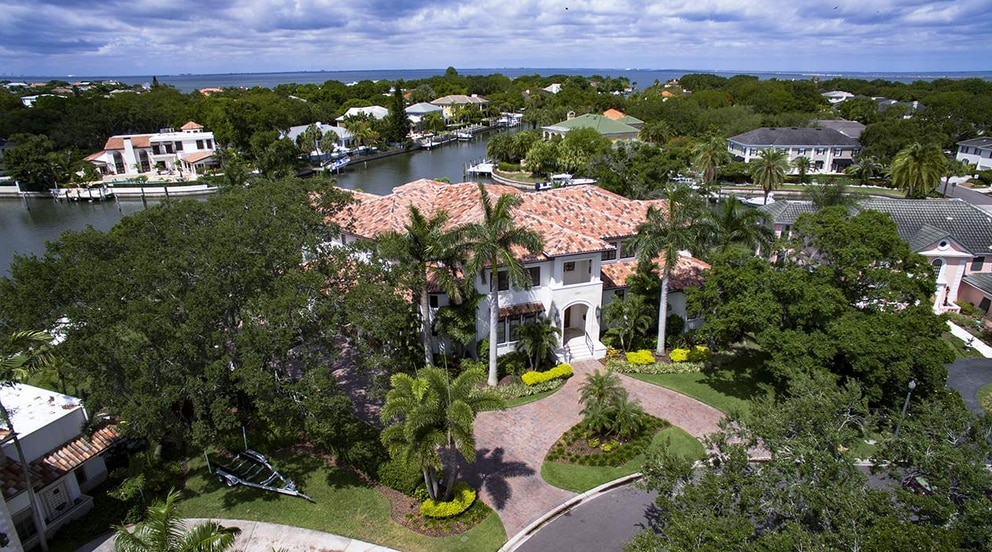 This Davis Islands home sold in January for $6.275 million. [Courtesy of Smith & Associates]