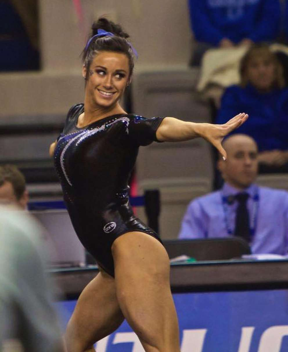 Shelby Hilton started gymnastics in St. Petersburg when she was 5.