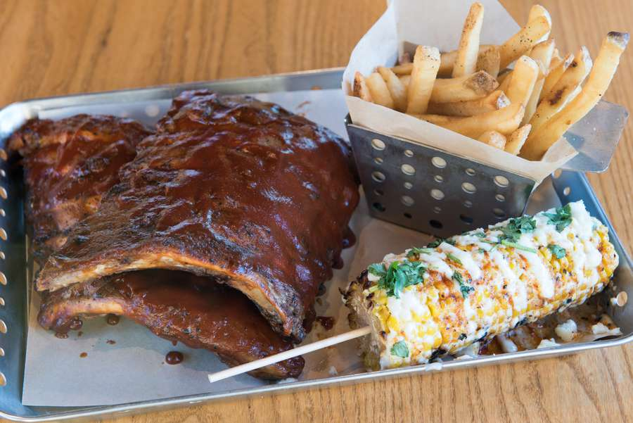 The ribs at Chili's are the subject of one of the most invasive earworms in advertising, but they prove too dry to merit being immortalized in song. [Photo by Dixie D. Vereen for the Washington Post]