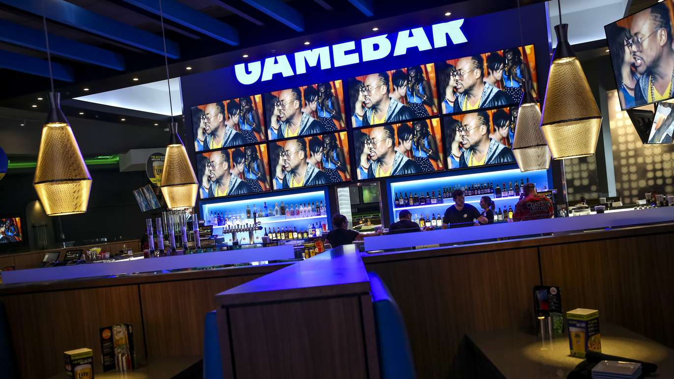 WILL VRAGOVIC   Times Over 50 televisions promise to have all the games covered in the bar area at Dave & Buster's in Brandon, Fla. on Monday, Oct. 23, 2017.
