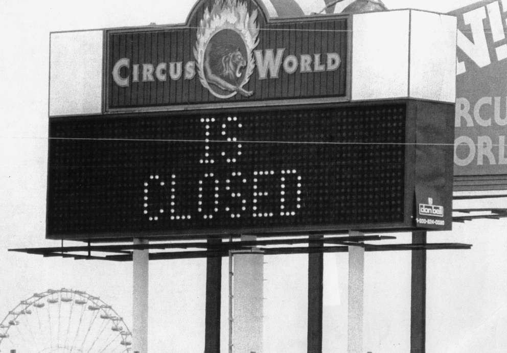 Circus World closed and was replaced with Boardwalk and Baseball. [Times file]
