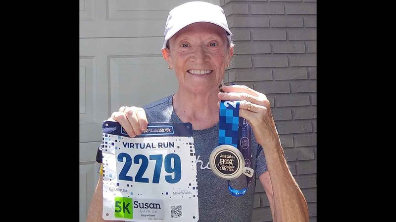 Runners find solace, purpose in virtual races