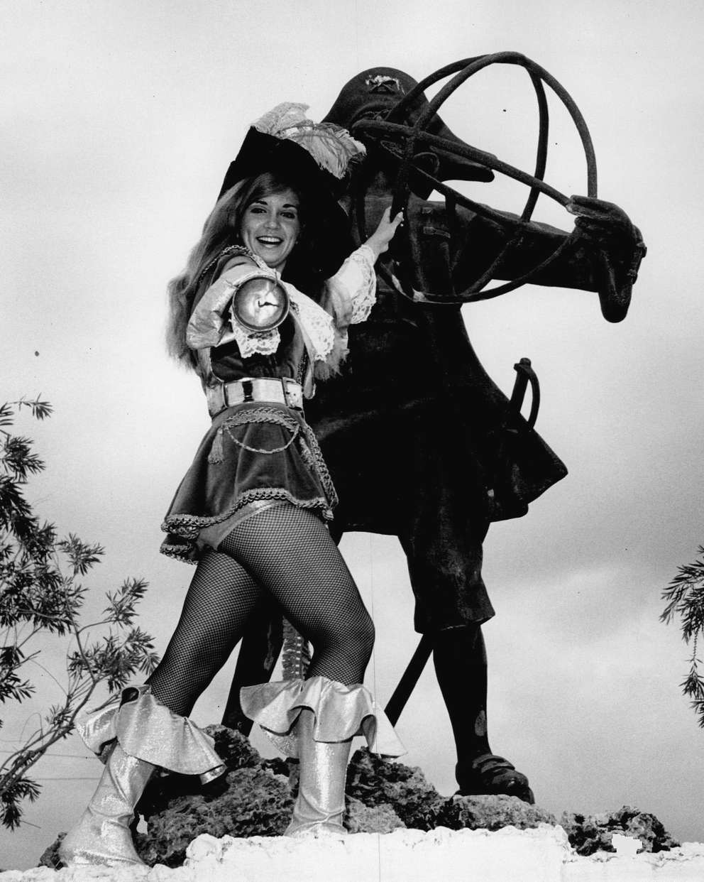 This photo was taken at Pirates World in 1968. [Times file]