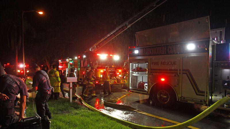 TP 395404 SANT 2 fire.