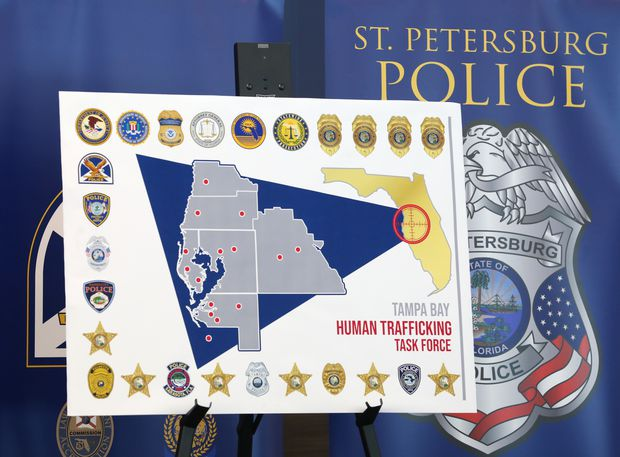 St. Pete police to lead Tampa Bay human trafficking task force
