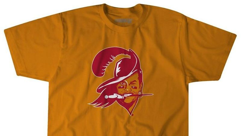 Want to help a Tampa bar pay its staff? Buy this Tom Brady/Bucco Bruce T-shirt