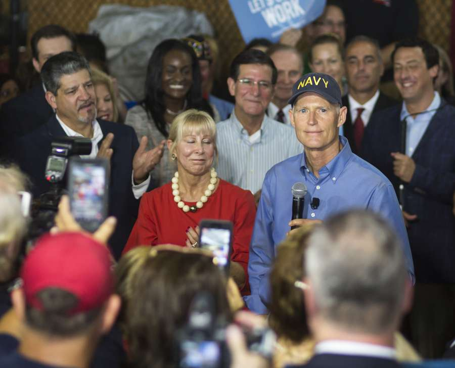 Gov. Rick Scott Seeks to Unseat Sen. Bill Nelson in Senate Race