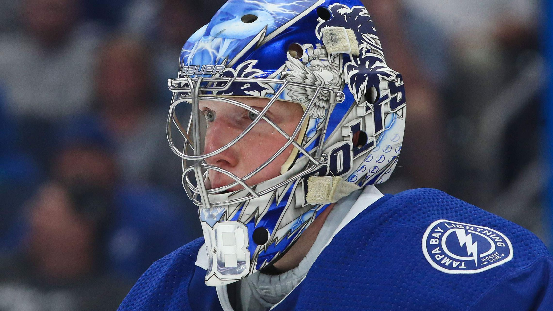 Lightning Goalies Express Their Personalities With Mask Designs