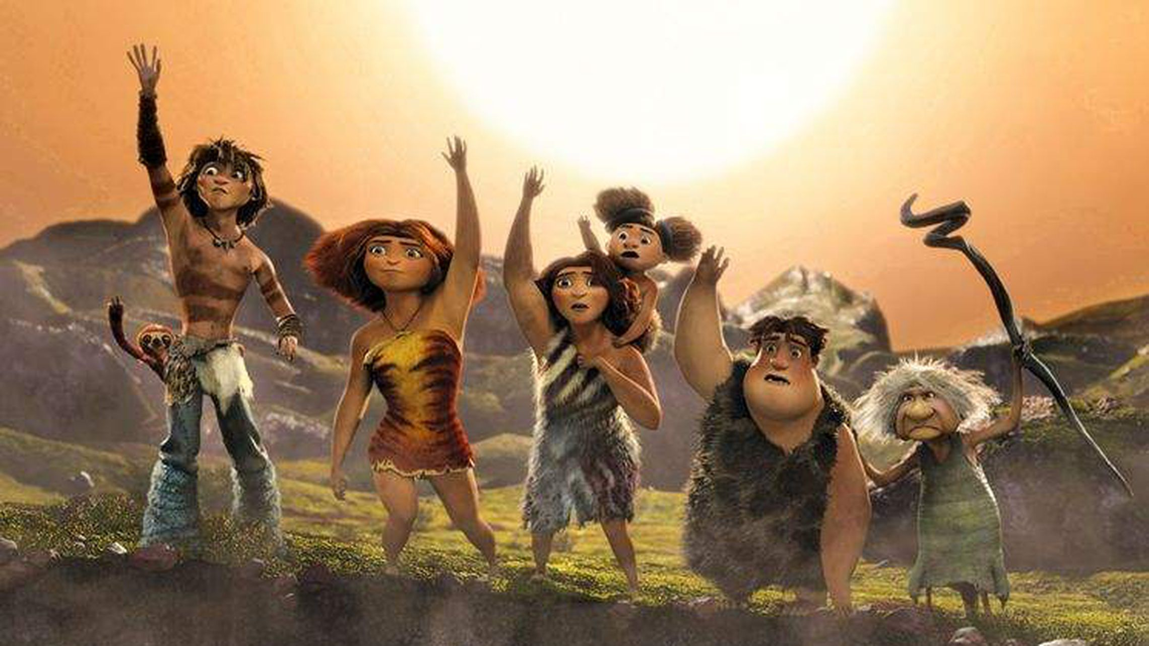 Review: 'The Croods' is the same old story with bursts of fun