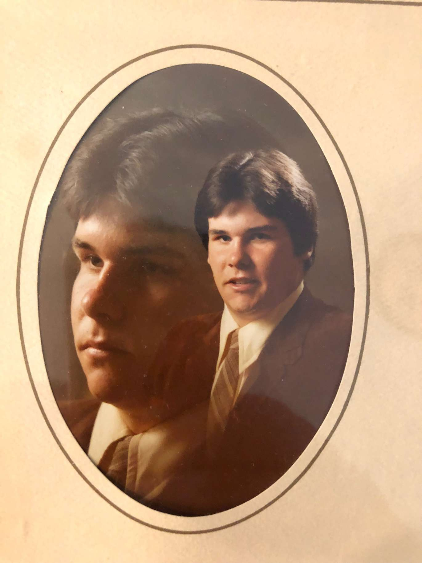 Todd Clem, who legally changed his name to Bubba the Love Sponge during his run for Pinellas County sheriff so that his radio name would appear on the ballot, seen in an undated photo from high school in the early 1980s. [Courtesy of Jane Edmond]