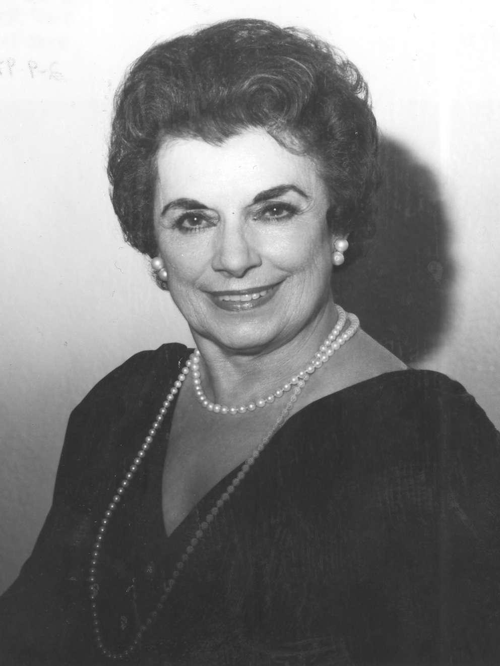 Adela Gonzmart [Times archives]