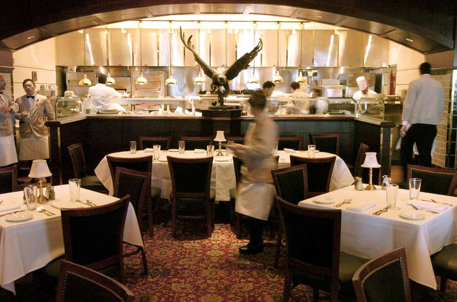 The Capital Grille restaurant in Tampa is one of Richard Corcoran's favorite spots. [Times]