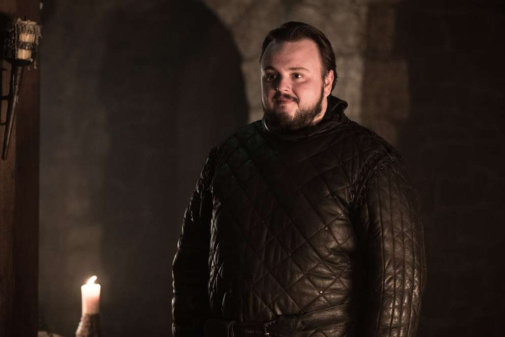 John Bradley as Samwell Tarly. [HBO]