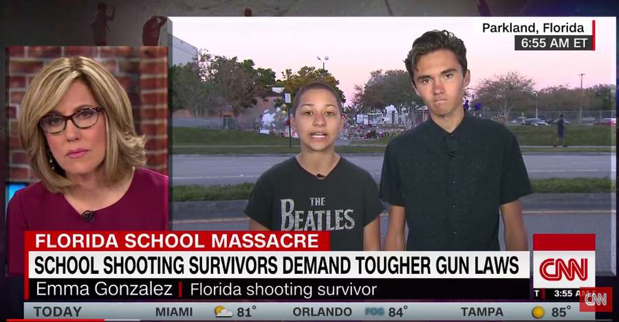 FL Lawmaker Aide Fired For Peddling Conspiracy About Student Survivors