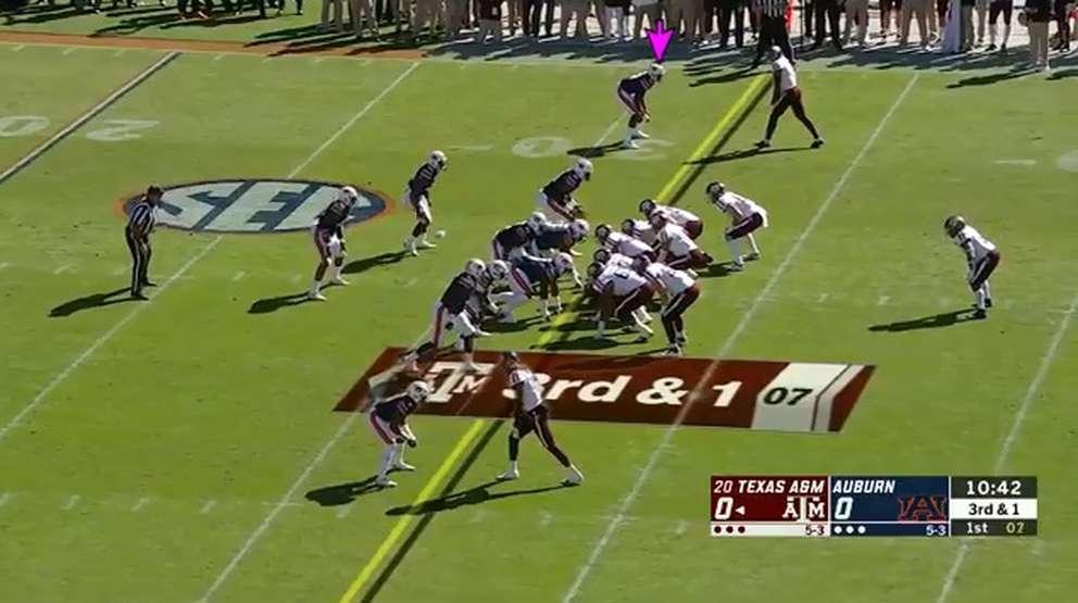 Jamel Dean, Auburn vs. Texas A&M