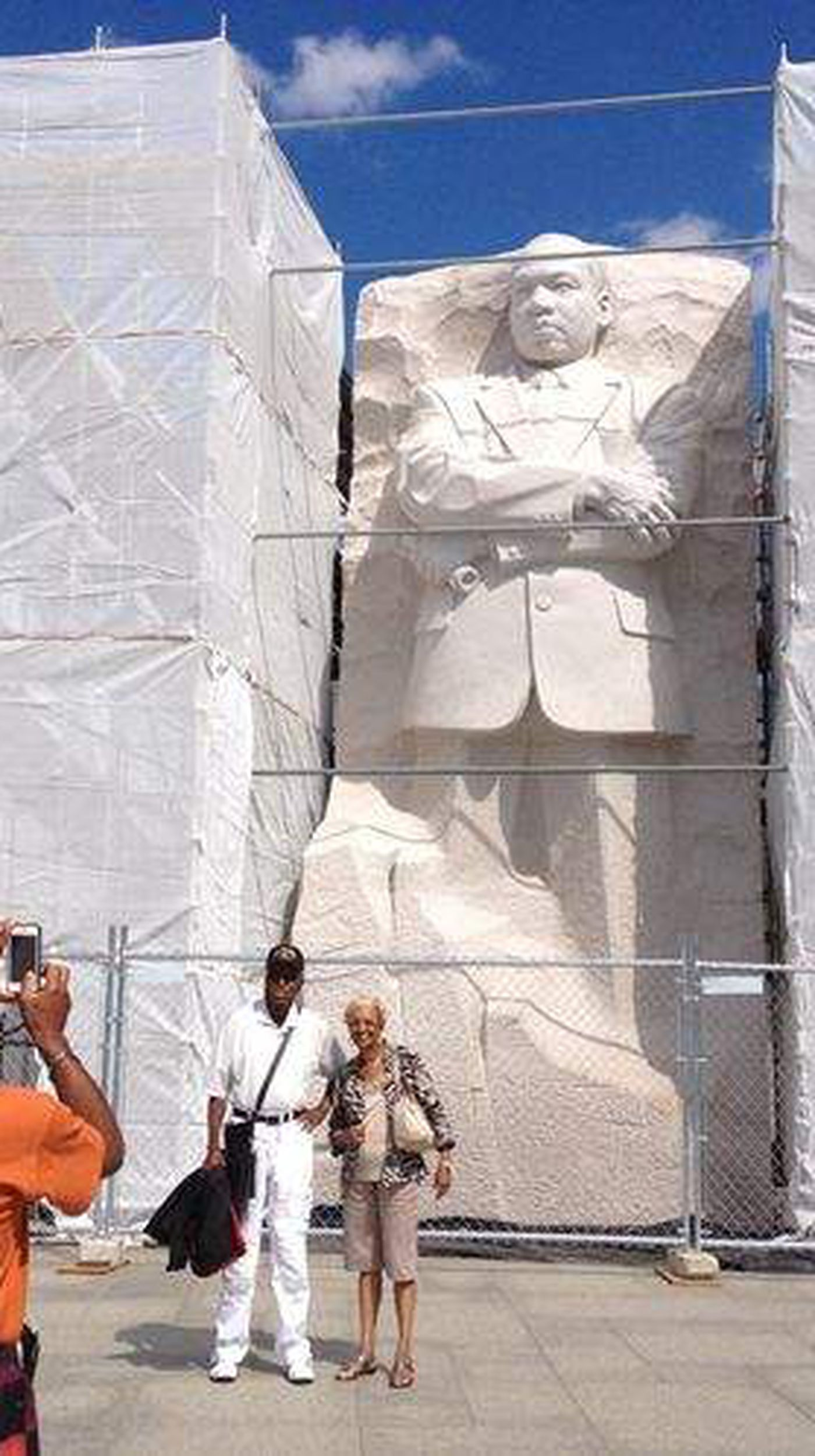 Chiseling Away Controversy At The Martin Luther King Jr Memorial