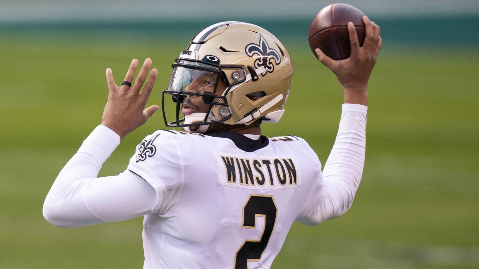 Saints' Jameis Winston placed on reserve/COVID-19 list