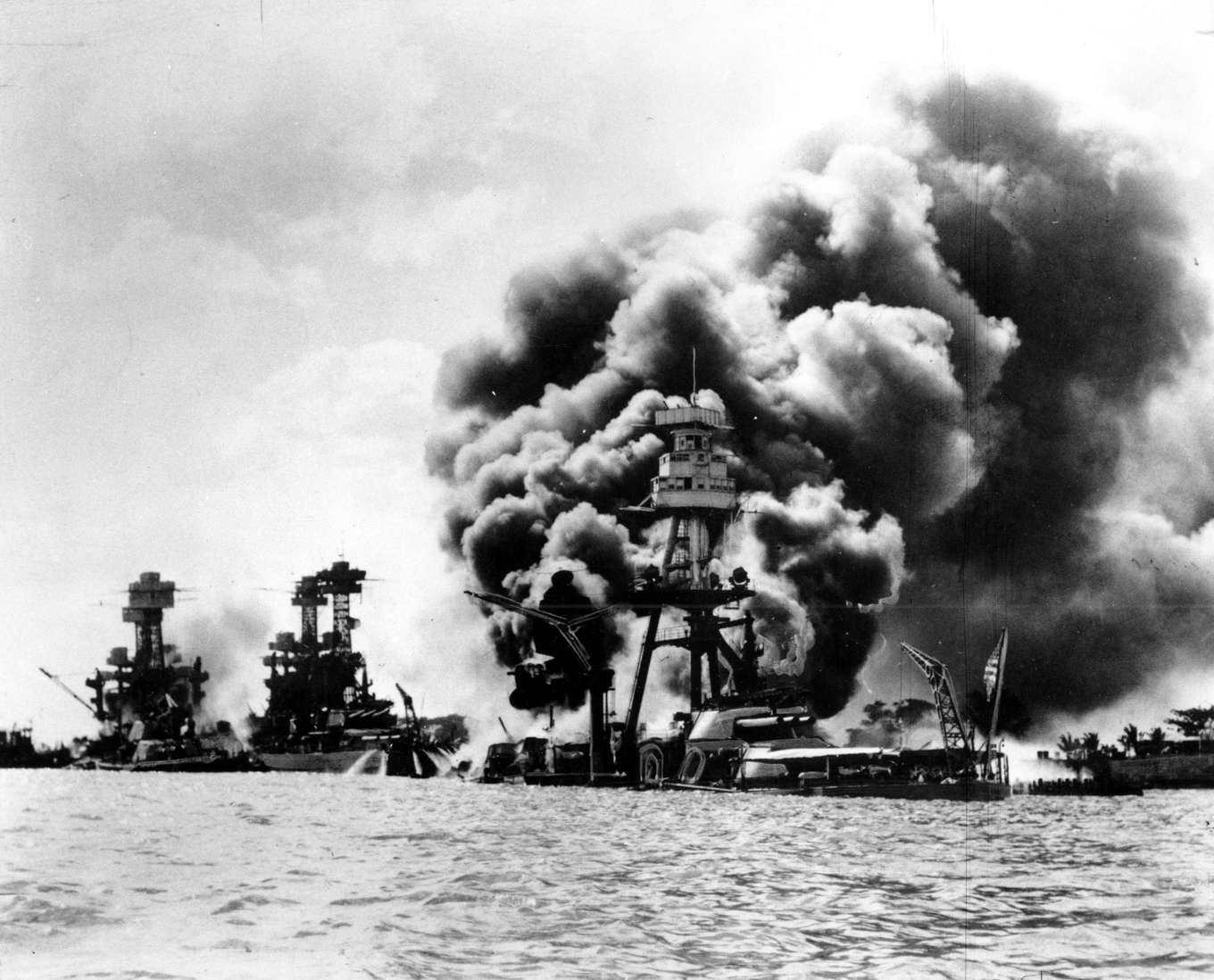 a brief look on the attack on pearl harbor in 1941 Facts about the attack on pearl harbor december 7, 1941 born an optimist but anyway you look at it – admiral nimitz was able to see a silver.