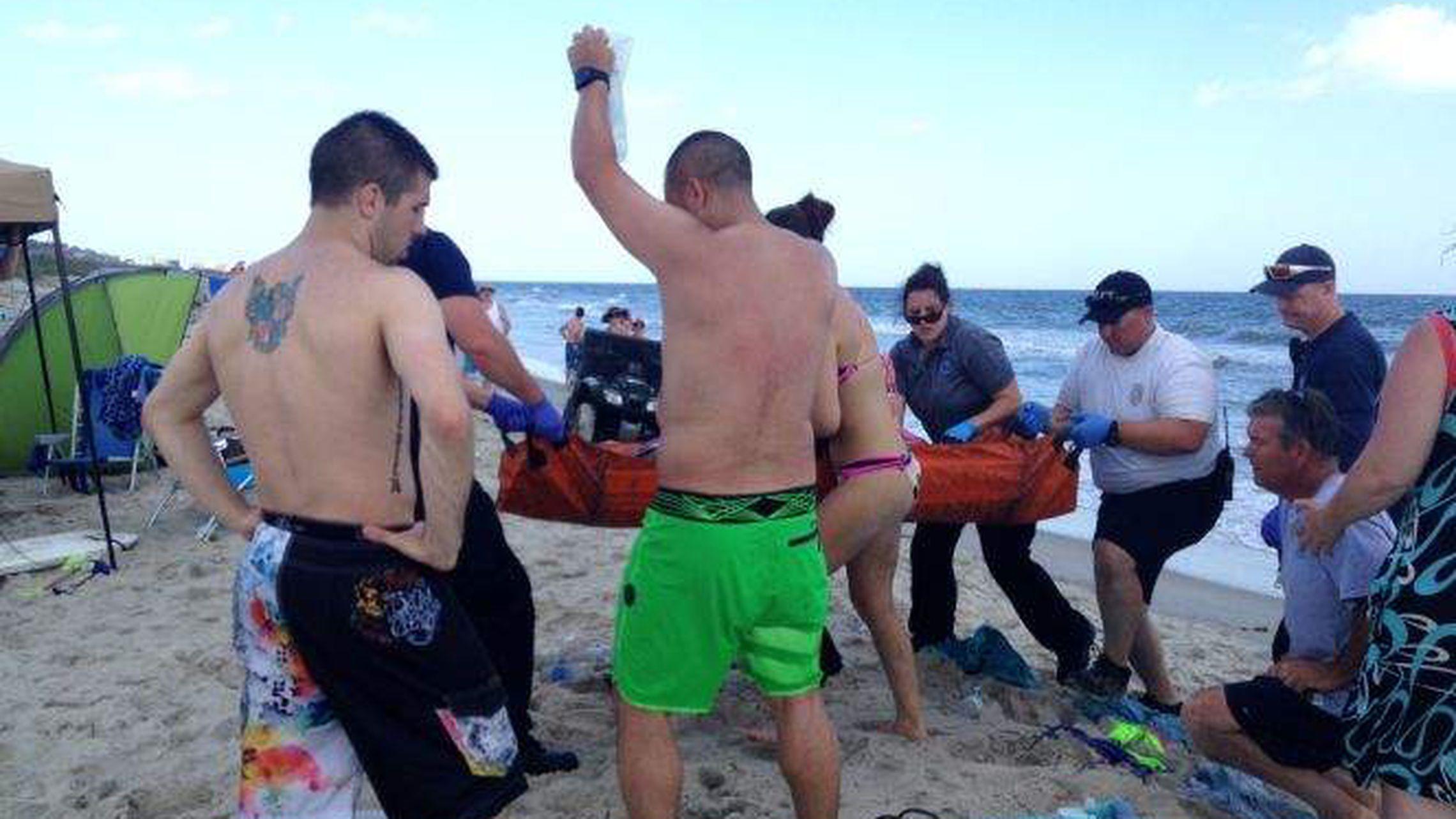 After 7 Shark Attacks Scientists North Carolina Offcials Look For Patterns