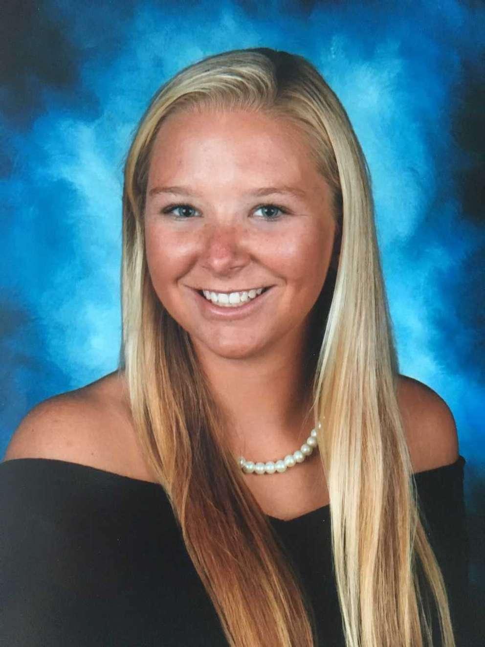 Blaire Ingrid McCarthy is the 2018 valedictorian at St. Petersburg High School.
