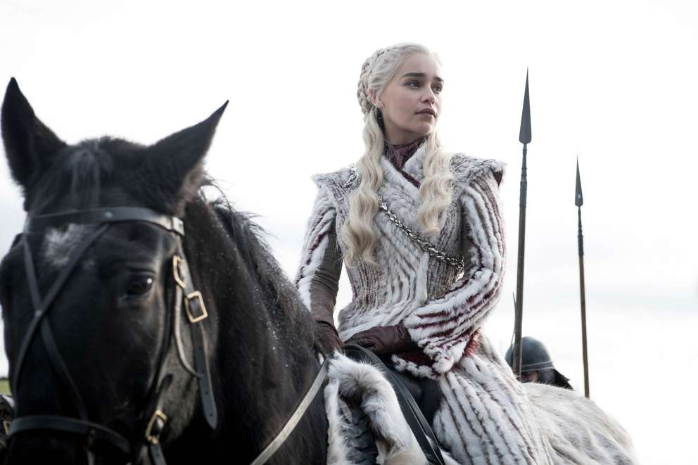 Emilia Clarke as Daenerys Targaryen. [HBO]