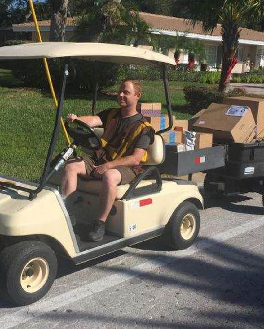 Have You Noticed Golf Carts Zipping Down Your Street That S Ups Delivering Holiday Packages