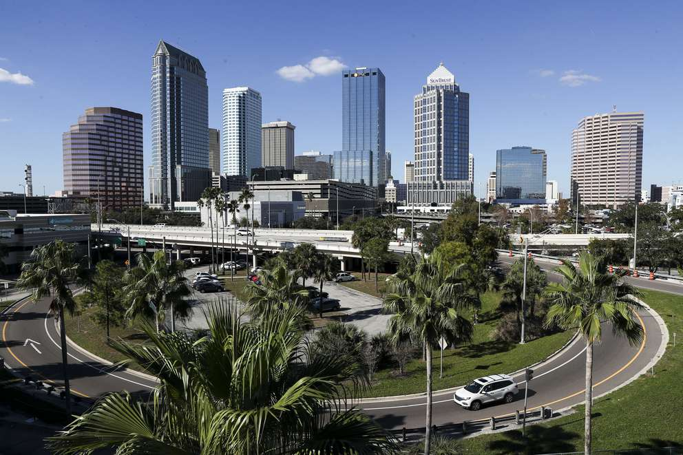 The City of Tampa skyline on a warm, clear day on January 7, 2019 in Tampa. [Monica Herndon | Times]