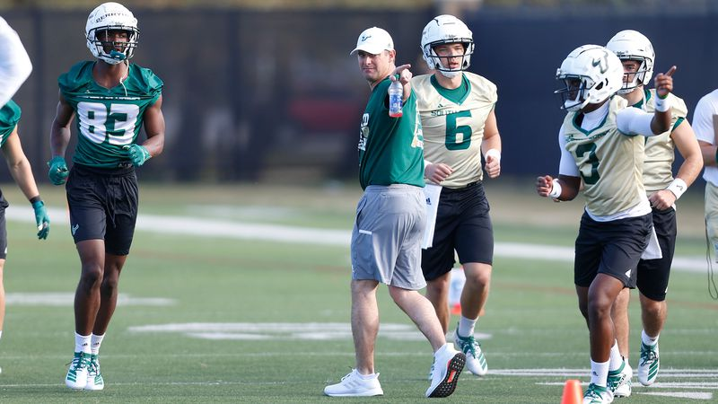 What has changed since USF's last football practice? Plenty