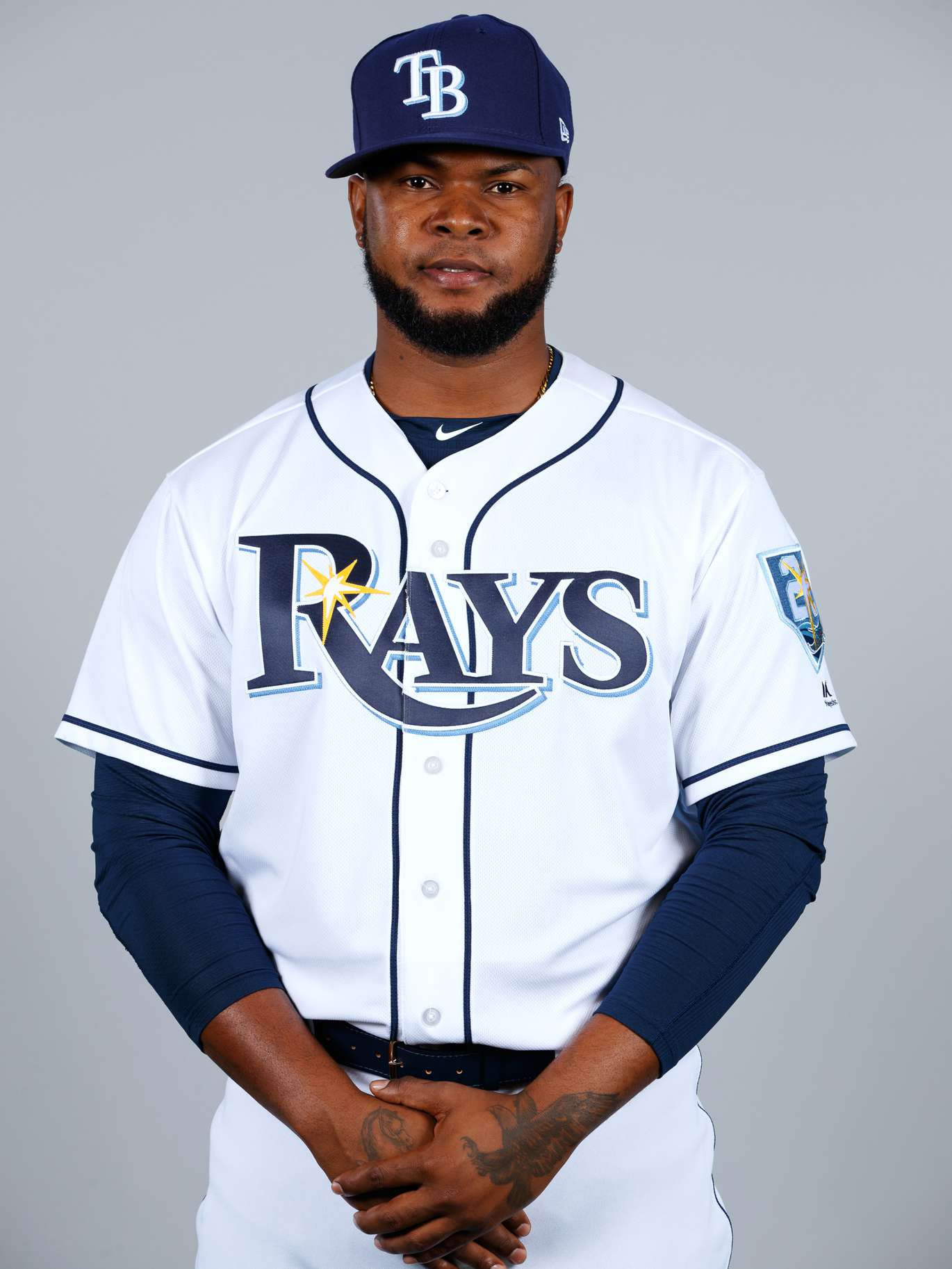 3. Alex Colome, rhp, No. 37: Surprised to not be traded, he can make Rays look smart by repeating solid 2017, converting majors-most 47 (of 53) saves. (Photo by Mike Carlson/MLB Photos via Getty Images)