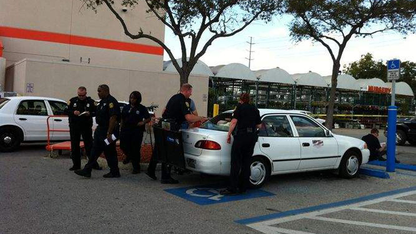 Fight Over Parking Escalates To Gunfire At Home Depot