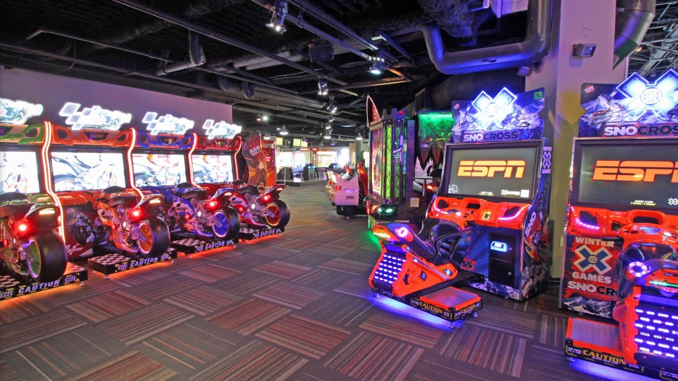 GameTime in Ybor City features a full service restaurant, sports bar and arcade. [Courtesy of GameTime]