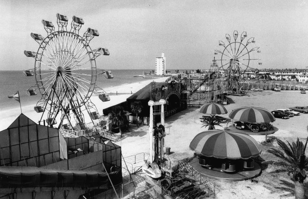 The amusement park next to St. Pete Beach's Aquatarium in 1969. [Times file]