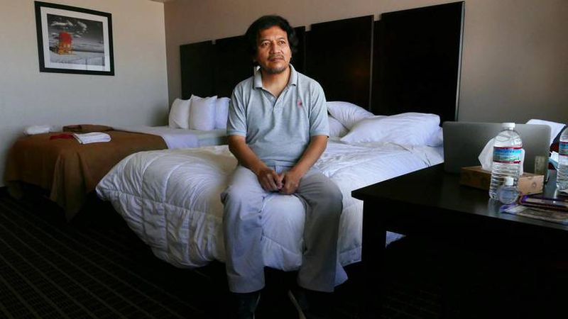Cruise ship worker has been living in South Florida hotels for 7 months. He can't get home.