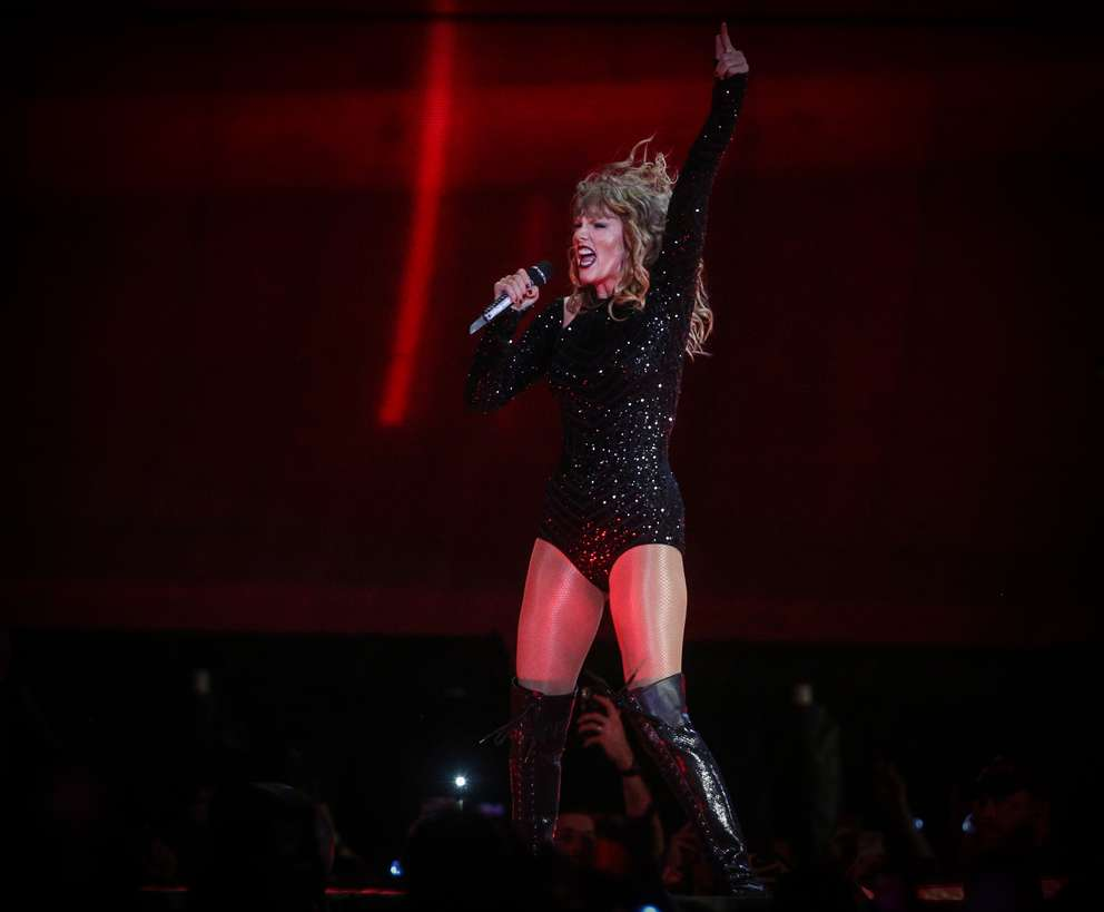 TAILYR IRVINE   Times Taylor Swift performs at the Raymond James Stadium during the Reputation Stadium Tour on Tuesday, August 14, 2018 in Tampa.