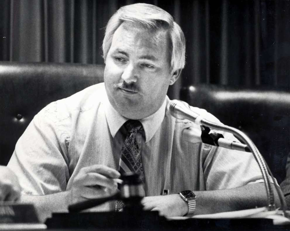 Former Pasco County Commissioner Barry Doyle in 1982. Times (1982)