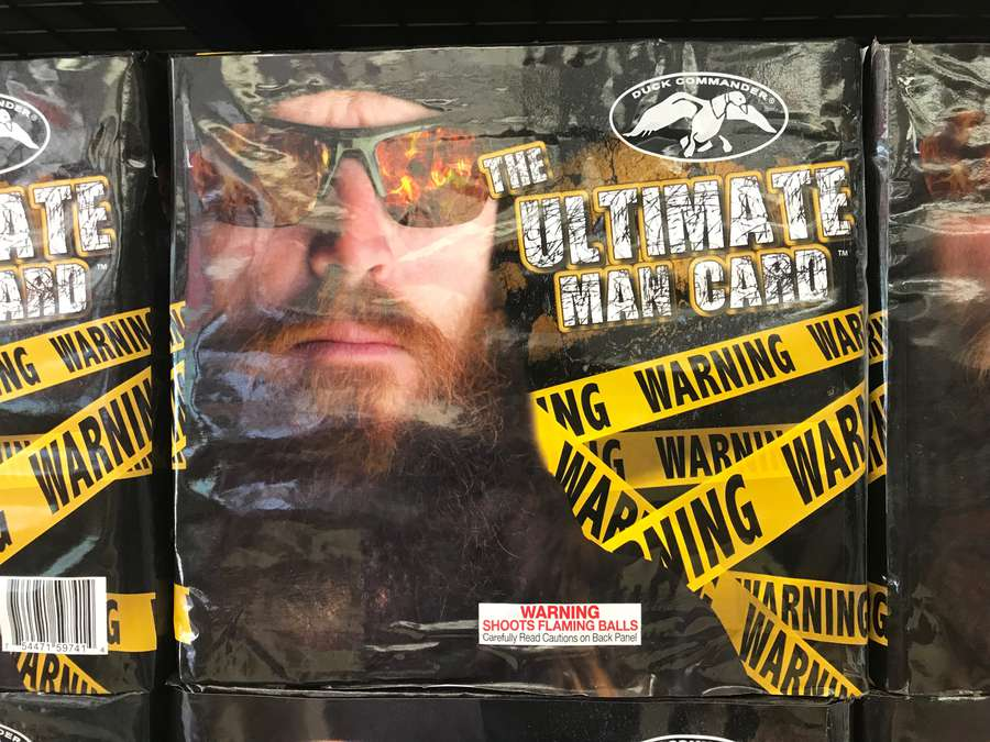 """The Ultimate Man Card, featuring one of those guys from """"Duck Dynasty"""""""