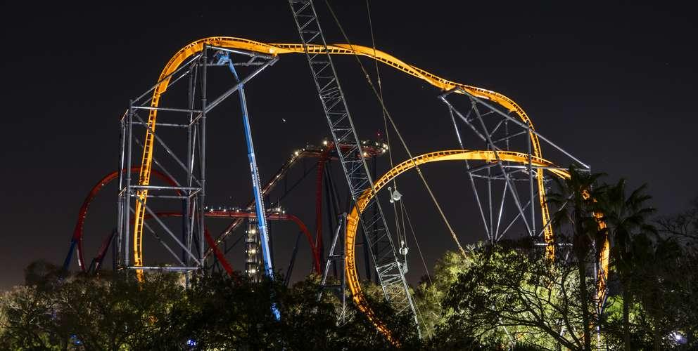 The Tigris launch coaster at Busch Gardens in Tampa. [Courtesy of Busch Gardens.]