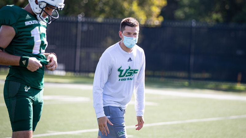 South Florida to South Bend: Charlie Weis Jr. heading back to Notre Dame