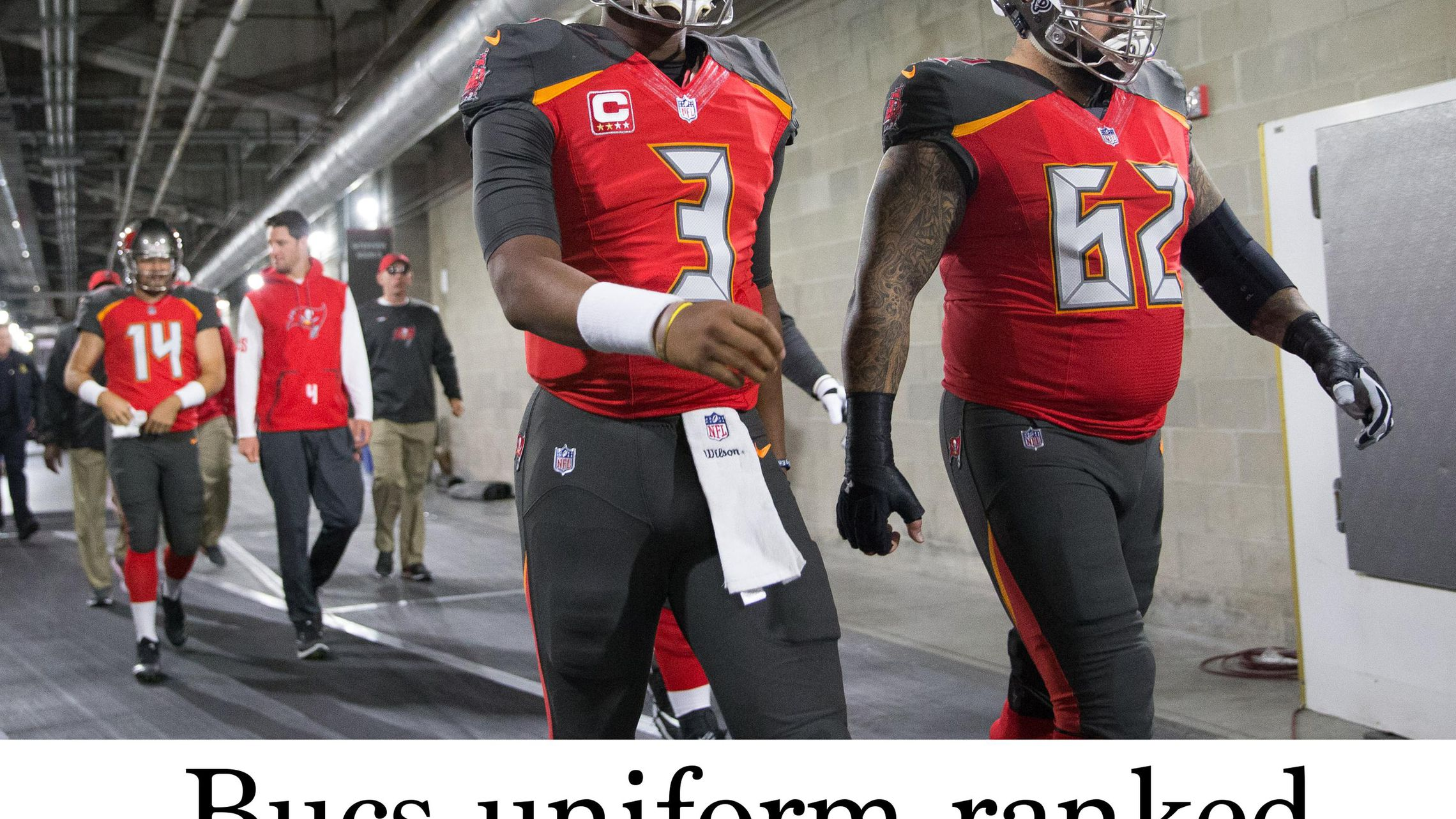 Bucs Uniform Ranked 32nd Among Nfl Teams Because There Isn T A 33rd