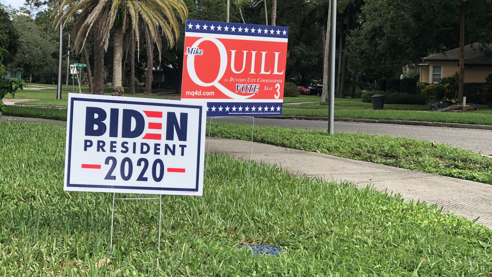 Stealing Political Yard Signs Is