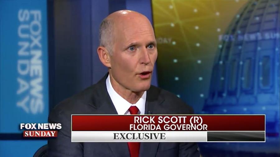 Rick Scott talks school shootings on Fox News Sunday: 'We've