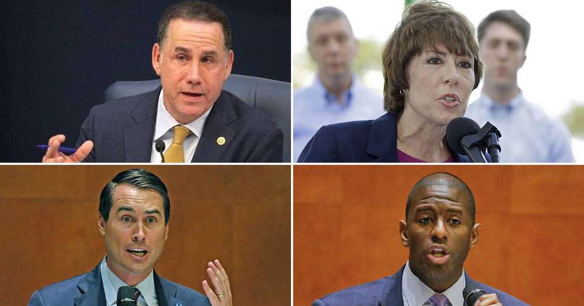 Florida Democratic governor candidates to protest Trump ...