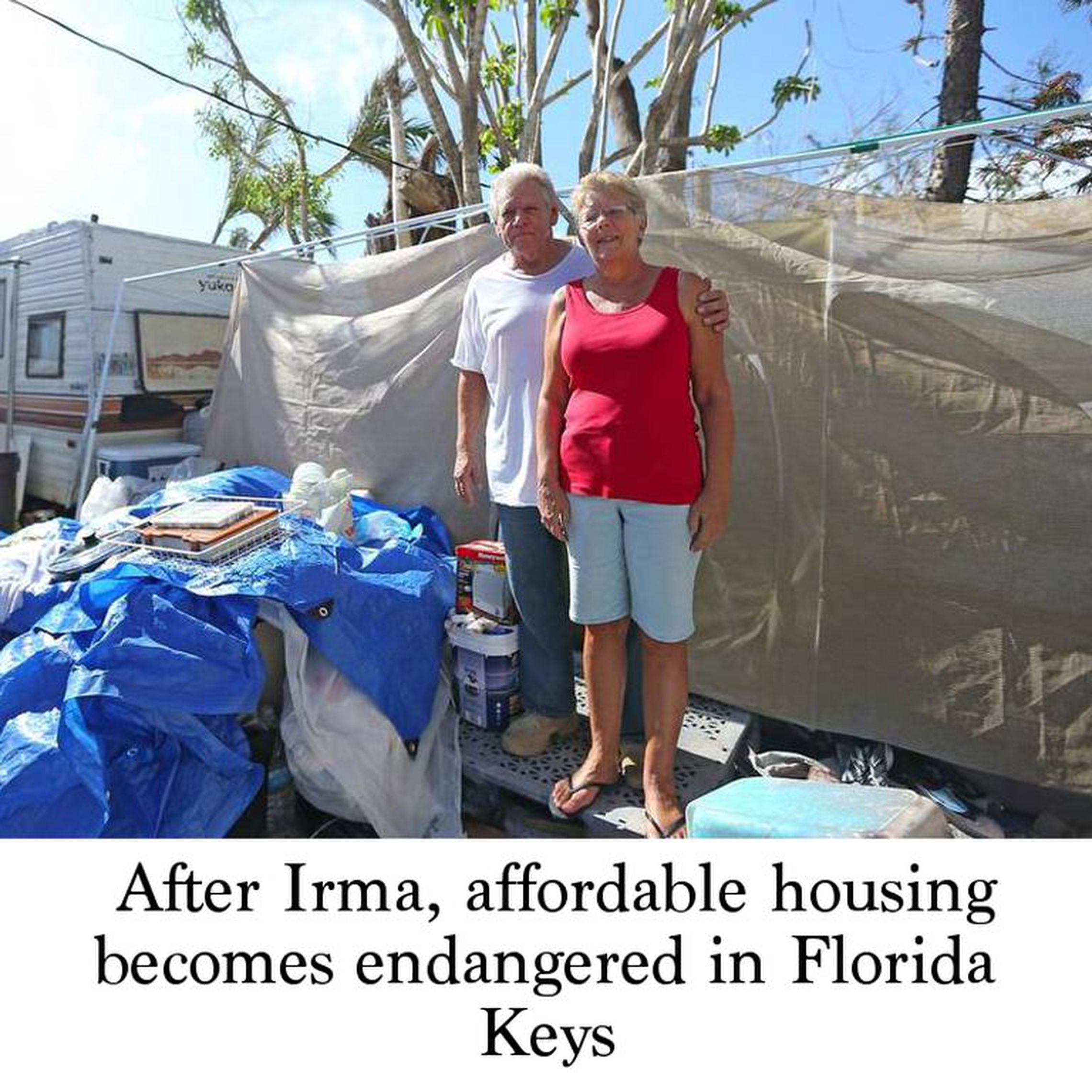 After Irma, affordable housing becomes endangered in Florida