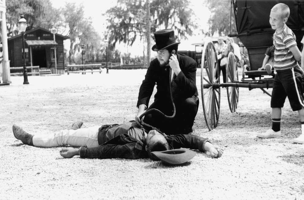 During the 1960s, actors at Six Gun Territory staged elaborate performances, including daily shootouts. [Times file]