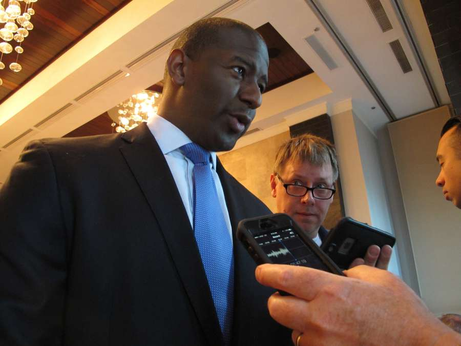 Image result for photos of andrew gillum as tallahassee mayor